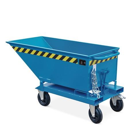 Conjunto de rolos para Tipping dumper, em forma de caixa + calha baixa