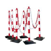 Conjunto de suportes de correntes, pé de borracha sólida (4 cantos)