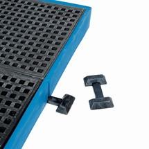 Connettore distanziale per vassoio di raccolta piatto asecos®