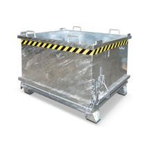 Container med bottentömning, förstärkt bottenlucka, förzinkad