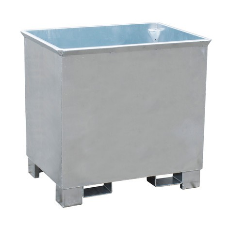 contenedor de apilamiento para polipastos de ruta, galvanizado