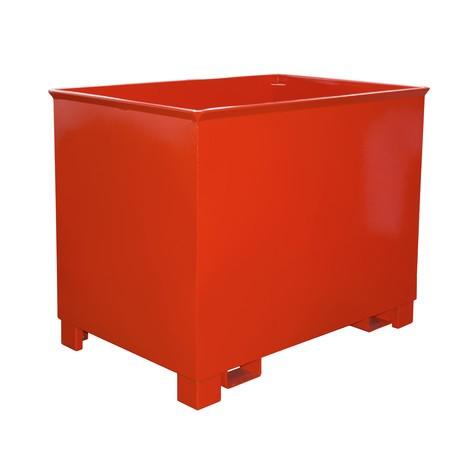 contenedor de apilamiento para polipastos de ruta, pintado, volumen 0,8 m³