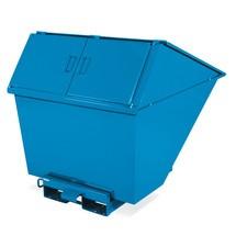 Contenedor de basura con función de volcado
