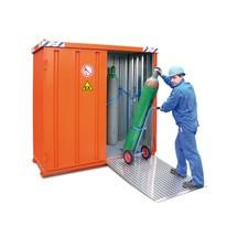 contenitore bombola gas con tettuccio SGL