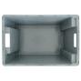 Contenitore impilabile girevole, pareti+fondo chiusi