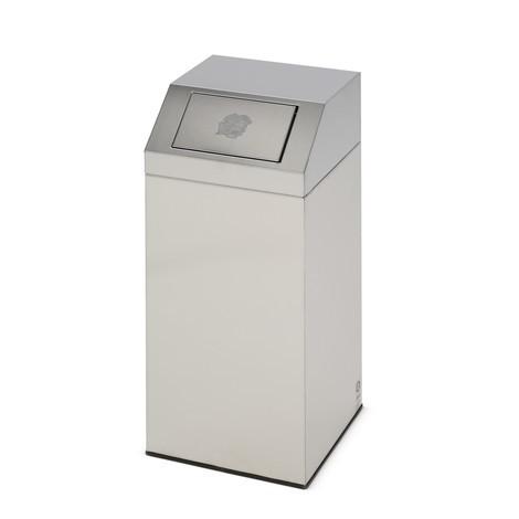 Contenitore per materiale riciclabile VAR® in acciaio inox
