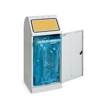 Contenitore per materiali riciclabili stumpf®, 70 litri, con sportello basculante