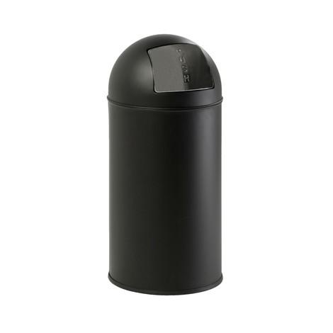 Contenitore per rifiuti Push, coperchio auto-richiudibile, 40 litri