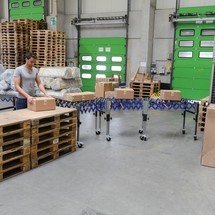 Conveyor table, Ameise®