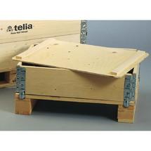 Couvercle pour cadre rehausseur en bois résineux