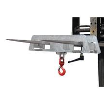 Crochet de charge pour chariot élévateur, galvanisé