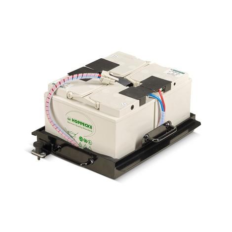 Cubeta de batería intercambiable de 300/750 W para el puesto de trabajo móvil Jungheinrich