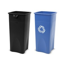 Cubo de reciclaje Rubbermaid®, 87 litros