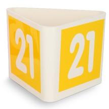 Cubos com número de orientação para o tráfego interno de mercadorias