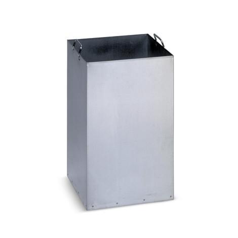 Cuve intérieure pour poubelle VAR®, galvanisée