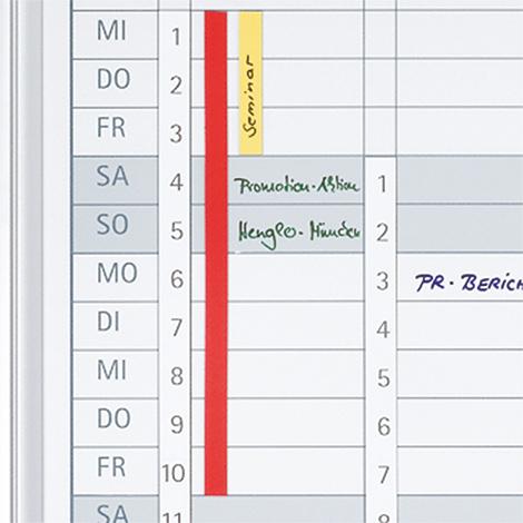 Datumsstreifen für Jahresplaner selbstklebend