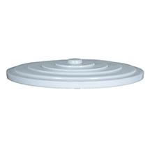 Deckel aus Polyethylen für Tonne rund, Inhalt 300 Liter