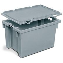 Deckel für Drehstapelbehälter weiß oder grau