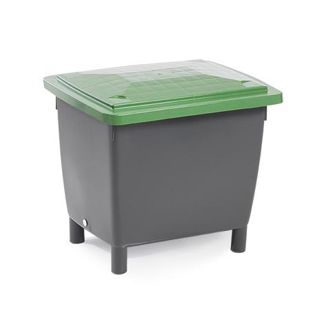 Deckel für Großbehälter CRAEMER aus Polyethylen. Farbe schwarz.