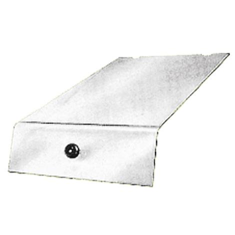 Deckel für Sichtlagerkästen aus Polystyrol. Maß max. 500 x 300 x 230 mm (LxBxH)