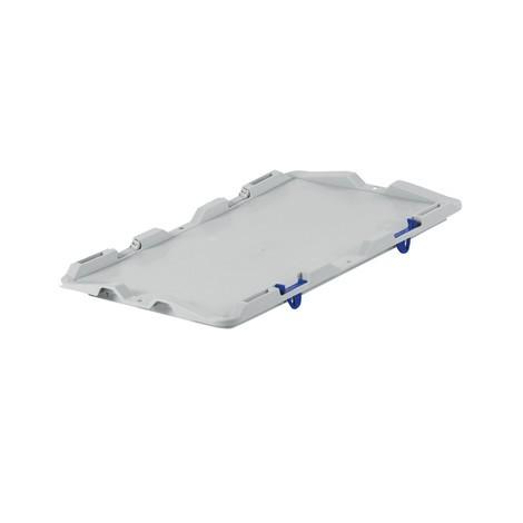 Deckel mit Scharnier für Euro-Stapelbehälter Premium
