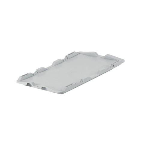 Deckel ohne Scharnier für Euro-Stapelbehälter Premium