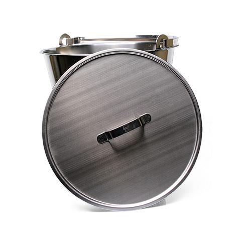 Deckel zu Edelstahl-Eimer 10 L