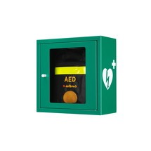 Defibrillator garderobe met akoestisch alarm