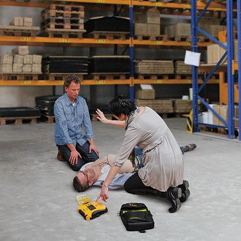 Defibrillator Lifeline View AED