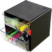 deflect-o® Schreibtisch-System CUBE