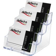 deflecto® Visitenkartenhalter