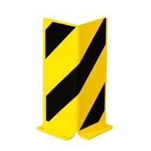 deflector corner, angle profile