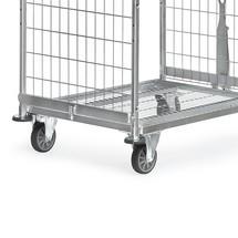 Deichsel + Kupplung für Kommissionierwagen fetra®