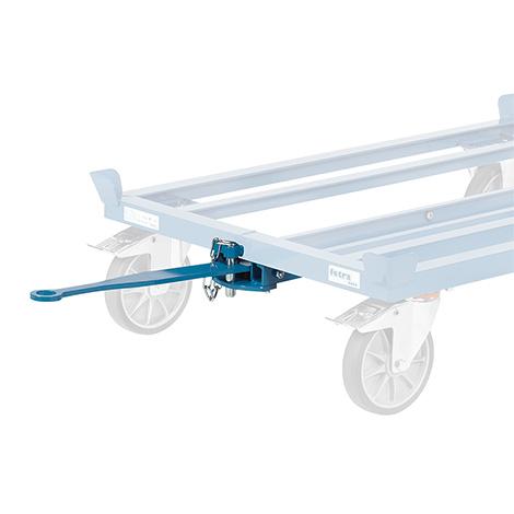 Deichsel und Kupplung für Paletten-Fahrgestell fetra®