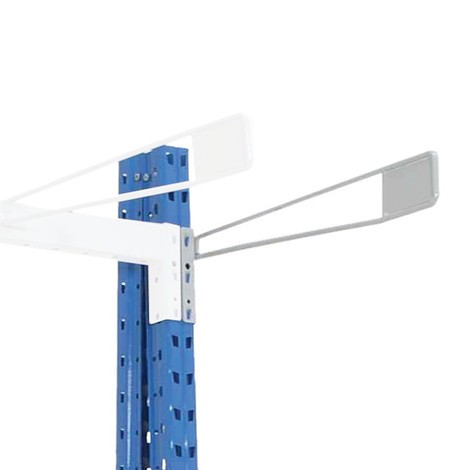 Delningsgaller för vertikalhylla