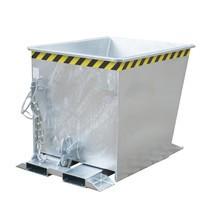 Depósito basculante para polipastos de ruta, galvanizado