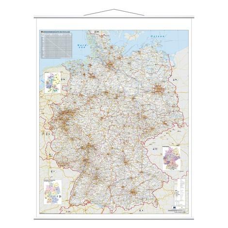 Deutschlandkarte Franken Strassenkarte Jungheinrich Profishop