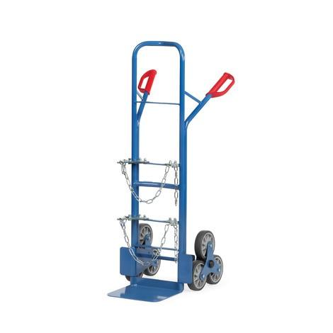 Diable pour escaliers à cylindres en acier fetra®, capacité de charge 200 kg