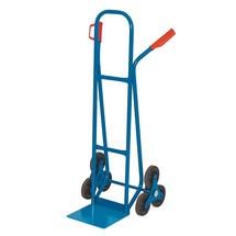 Diable pour escaliers BASIC, avec roues en étoile à 3branches
