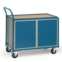 Dílenský vozík fetra®, 2 skříňky