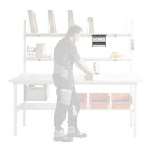 DIN A4 Ablage, Fachboden, verzinkt