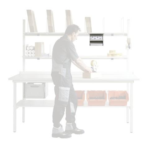 DIN-A4-Ablage mit Fachboden für Packtisch Classic und Multiplex