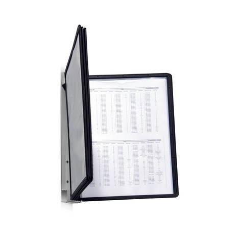 Display panel system with 5 panels