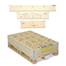 Divisor de estrutura de empilhamento em madeira