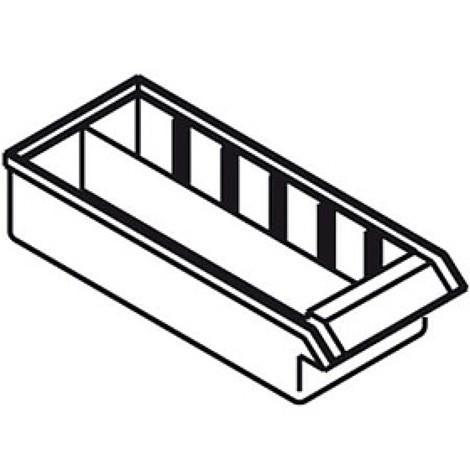 Divisória longitudinal para armário de arrumação para peças pequenas Premium