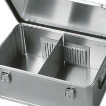 Divisórias para caixas de transporte de alumínio Profi