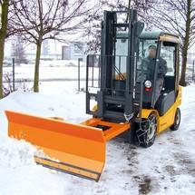 Doczepiany do wózka widłowego pług śnieżny BASIC