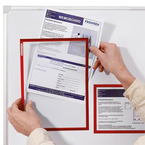 Dokumentenhalter, DIN A 4, VE = 5 Stück