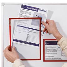 Dokumentenhalter, DIN A 5, VE = 5 Stück