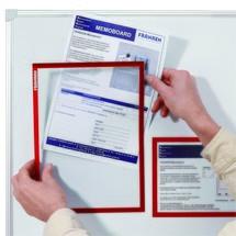 Dokumentenhalter, DIN A4, 5 Stk/VE